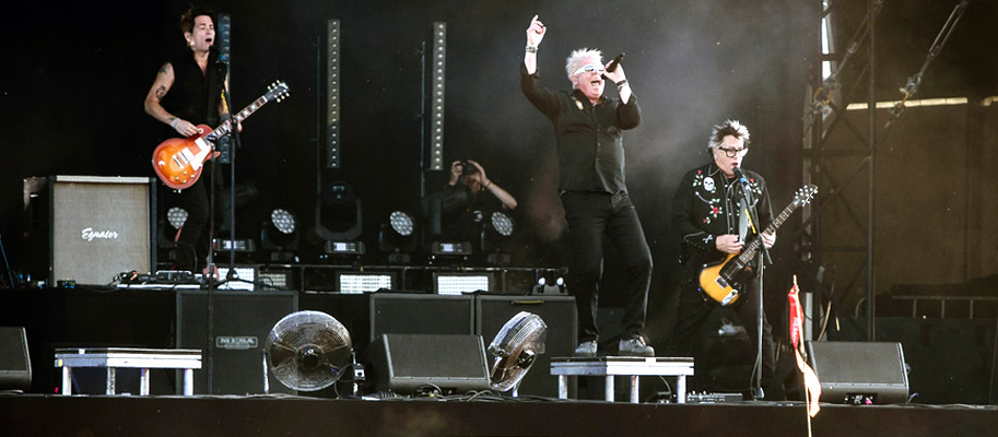 The Offspring 15th Of August Live Concert In Lignano